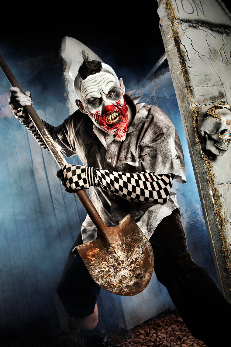 Bonjo the Clown | Jonathan Timmes Photography