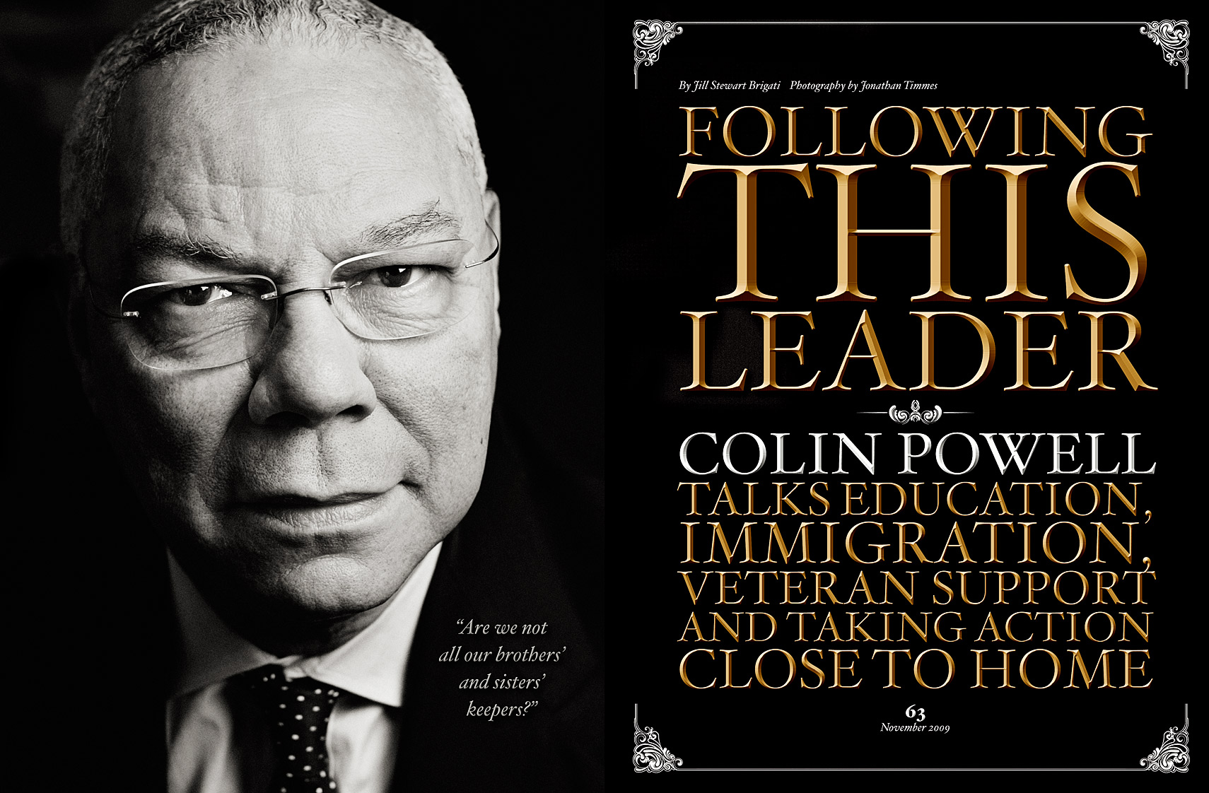 Colin Powell | Jonathan Timmes Photography