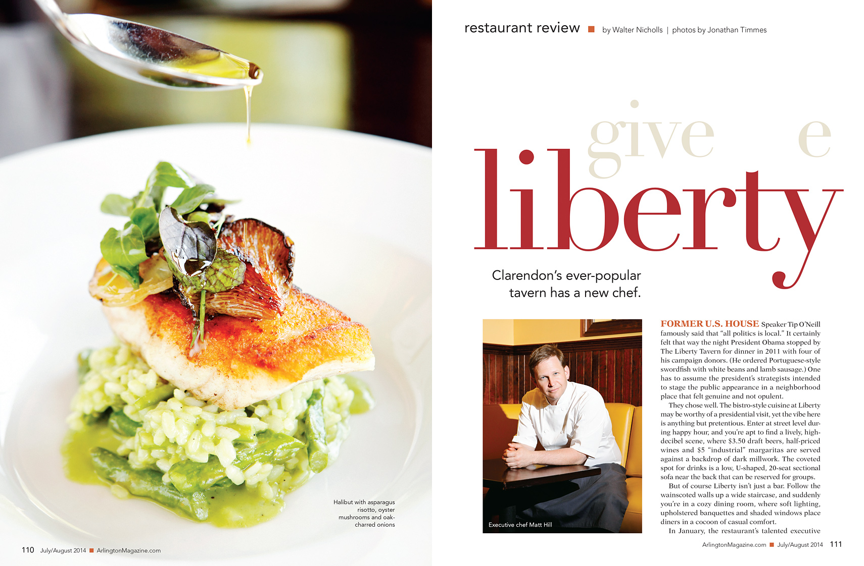 The Liberty Tavern | Chef Matt Hill | Jonathan Timmes Photography