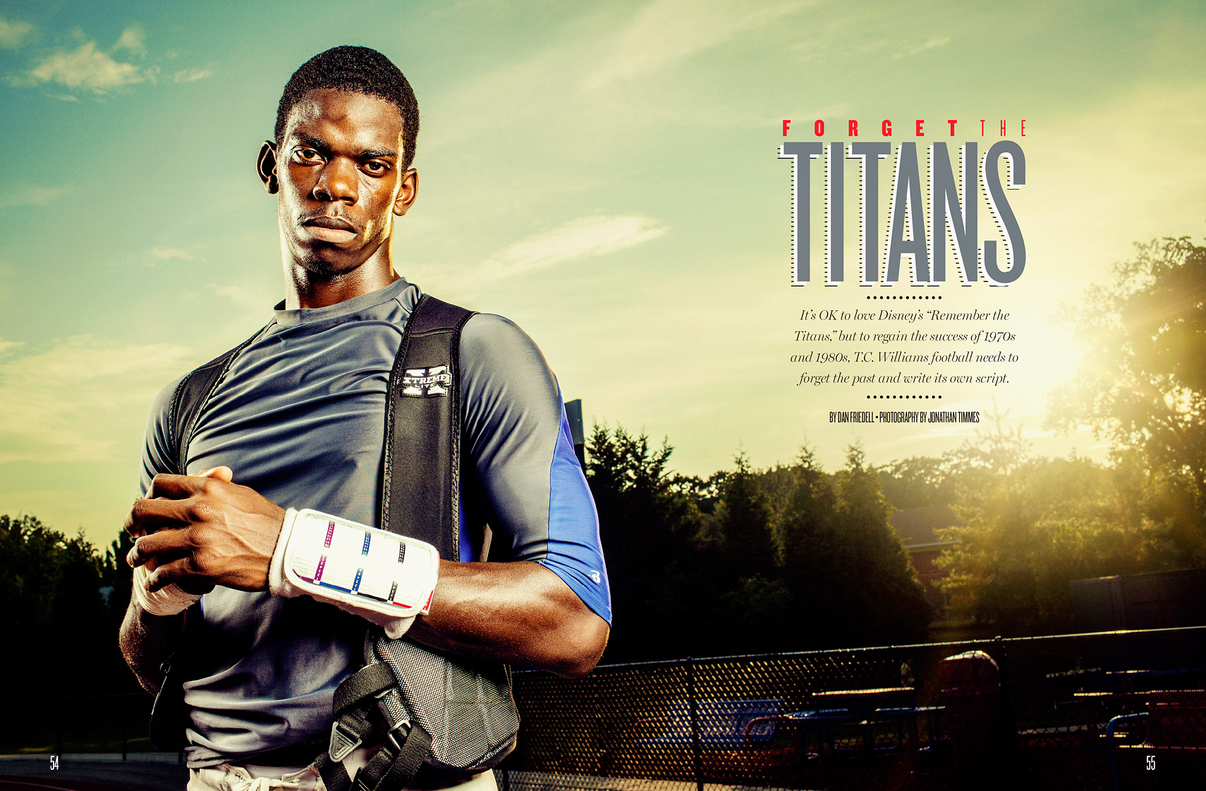 Darius Holland | TC Williams Football | Jonathan Timmes Photography